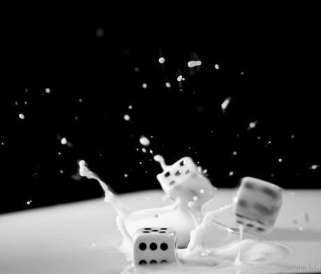 Tossing dice