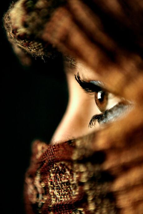 Brown Eyed Woman...