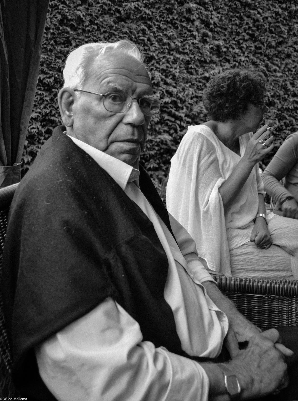 Opa - een portret van mijn opa - foto door wilcofm op 30-05-2015 - deze foto bevat: man, mensen, portret, daglicht, zwartwit, 50mm
