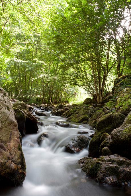Stromend water in Spanje