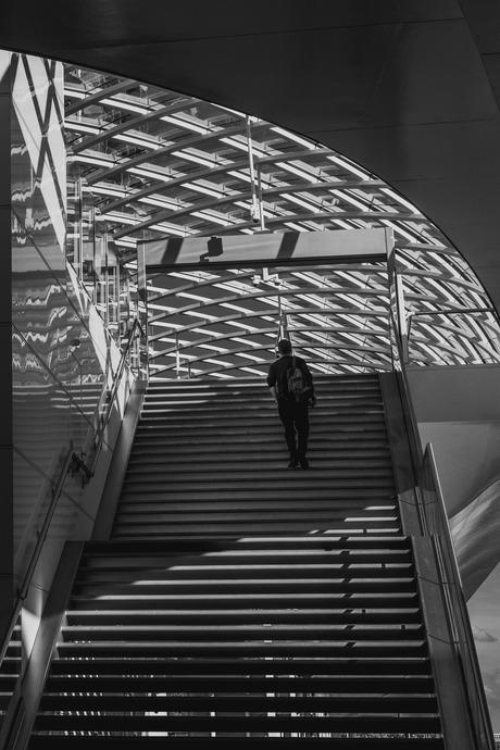 Den Haag Centraal Metro trap