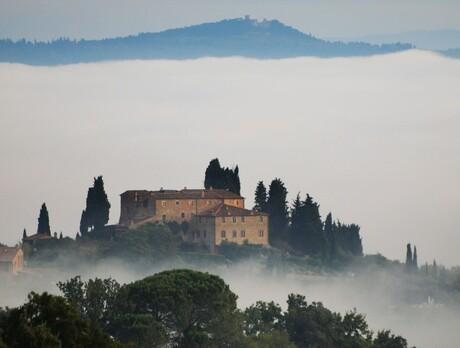 Wijnhuis in Toscane