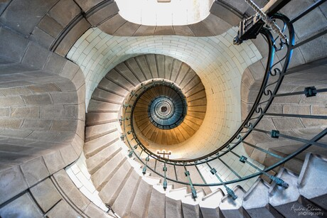 L'escalier du Phare d'Eckmühl