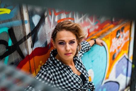 Astrid II - Op Strijp-S in Eindhoven. - foto door Jheronimus op 21-06-2017 - deze foto bevat: vrouw, portret, model, haar, fashion, beauty, mode, fotoshoot