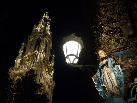 Antwerp by night