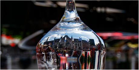 Brugge in het glas.