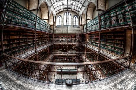 Rijks Library Fisheye point of view