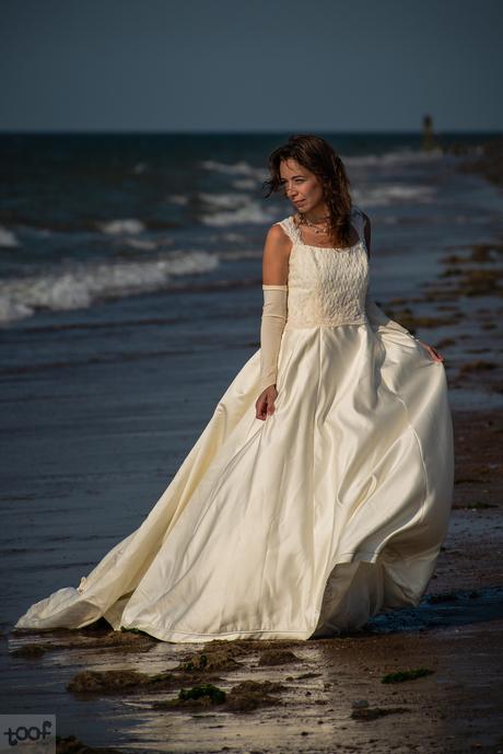 Bride at sea...