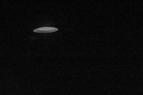 Ufo boven het huis????