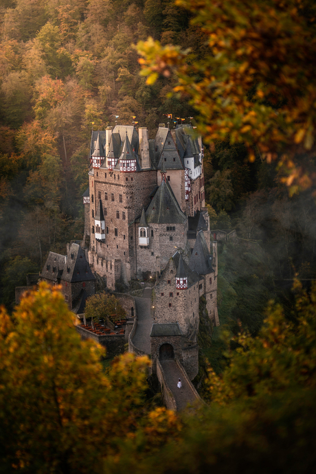 Burg Eltz - Herfstkleuren