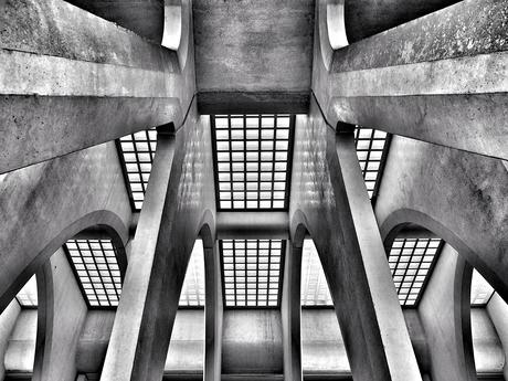 Transformer beton look