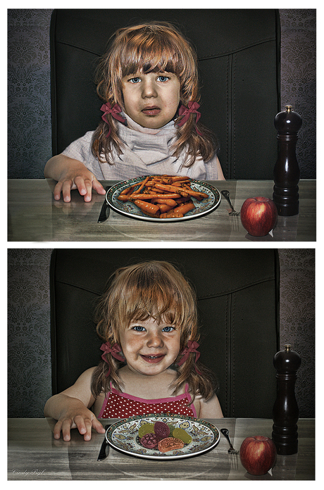 Carrots vs Candy
