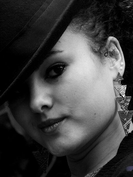 Zwart - wit portret