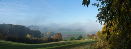 Jekerdal in de mist