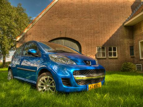 HDR Peugeot 107