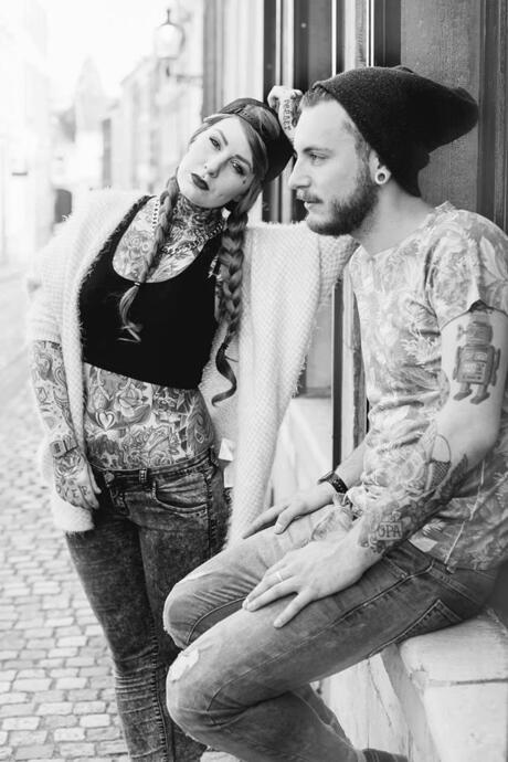 Katy en Francesco