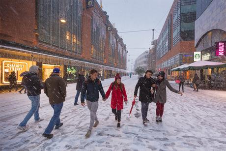 Winter in Den Haag