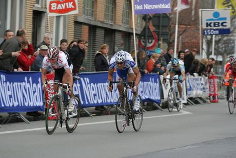 In sprint naar de finish