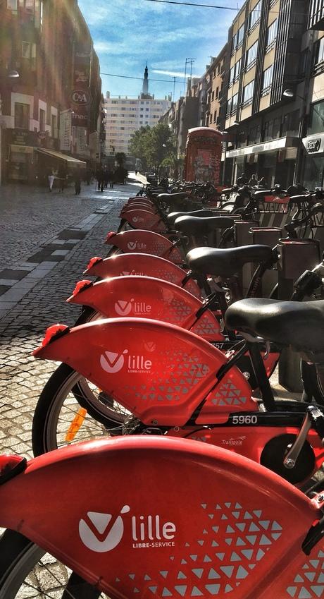 Citybikes in Rijsel