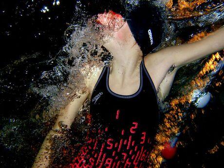 onderwateropname vrije slag