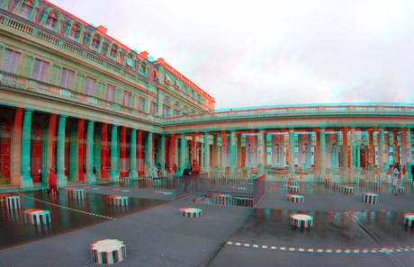 Palais-Royal Paris 3D GoPro