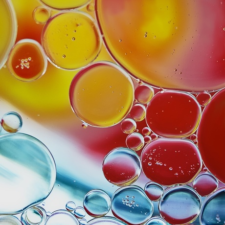 Olie en water