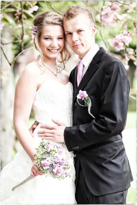 Kim en Mike trouwen