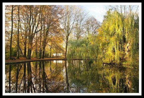 Park in herfstsfeer