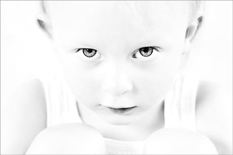 Peuterportret Zwart / Wit