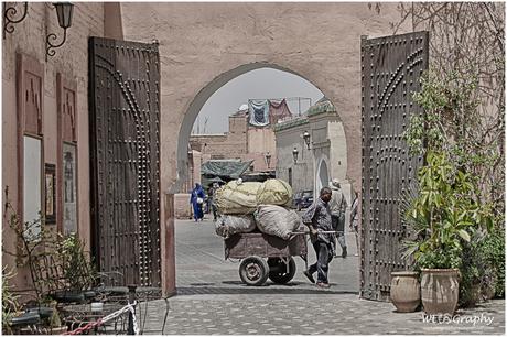 2017 Op straat in Marrakech
