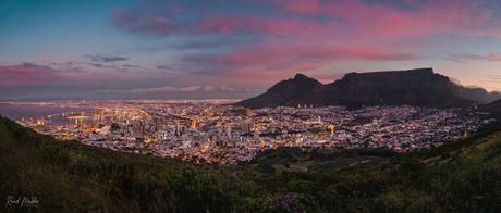 Zonsondergang in Kaapstad