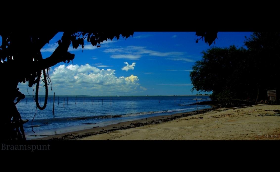 Braamspunt - Vissersdorp aan de monding vd Surinaamse rivier.    okt 2009    ThanX voor de reacties op mijn vorige upload  Stan - foto door stanga op 03-02-2010 - deze foto bevat: stanga