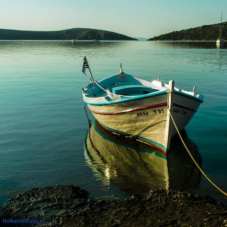 140725 Griekenland, Vivari aan de Kondili baai. 6.15 uur