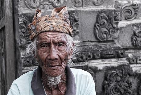 Balinese man.