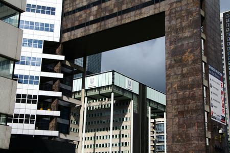 Gebouwen op de Weena Rotterdam - Gebouwen op de Weena in Rotterdam - foto door fritskooijmans op 29-03-2011 - deze foto bevat: rotterdam, architectuur, gebouw