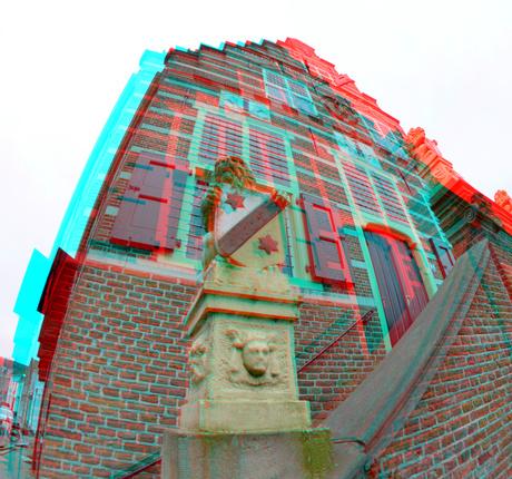 Stadhuis Oudewater 3D Fish-eye