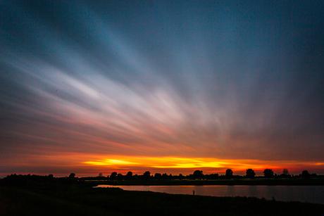 zonsondergang met LEE filters
