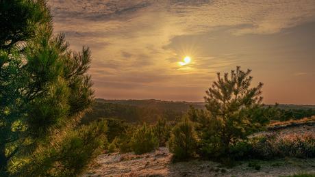 Tij voor zonsondergang