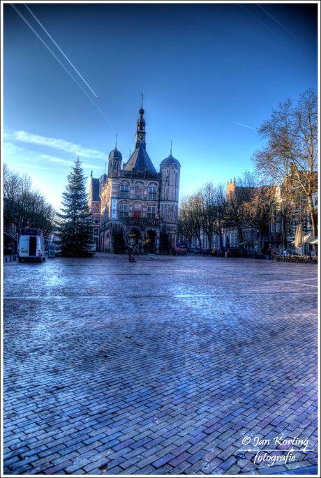 het zonnige Deventer