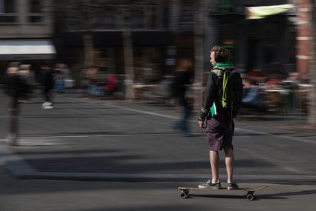 Skater in Leuven