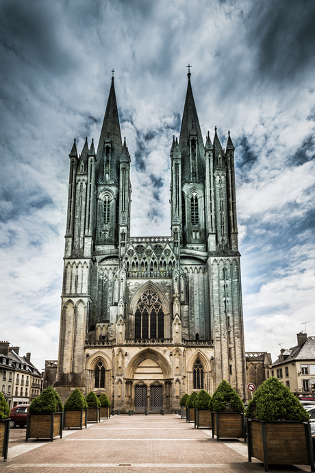 kathedraal in coutances