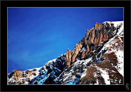 The Wow Feeling - - - foto door aernoutjacobs op 19-01-2009 - deze foto bevat: lucht, zon, blauwe, winter, frankrijk, bergen, alpen