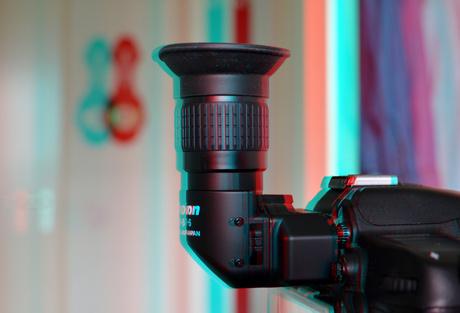 Hoekzoeker Angle-finder Nikon DR-6 in stereo
