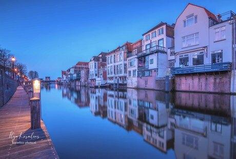 Blue hour in Gorinchem