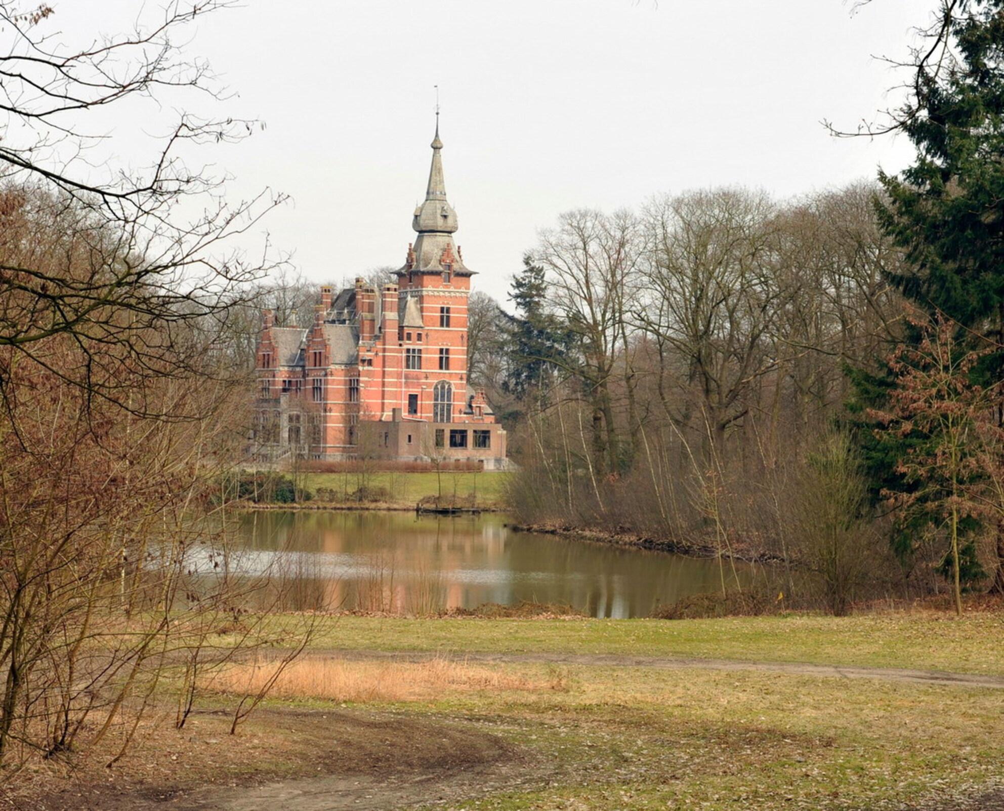 Kasteel in Retie(B) - `n dagje uit met fotokonijnenberg uit Turnhout, mooi verzorgde dag bedankt - foto door MVG_zoom op 18-03-2010 - deze foto bevat: kasteel - Deze foto mag gebruikt worden in een Zoom.nl publicatie
