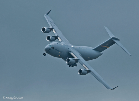 C17 in the air GR 5