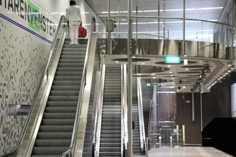 Metrostation Rotterdam