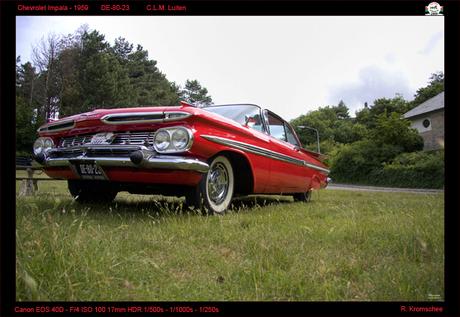 Chevrolet Impala uit 1959 op ARN2009
