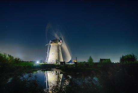 Flying windmill