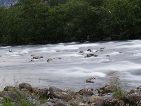 Stromende rivier